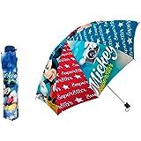 "Disney Mickey Mouse - Folding travel Umbrella 55cm 22"""