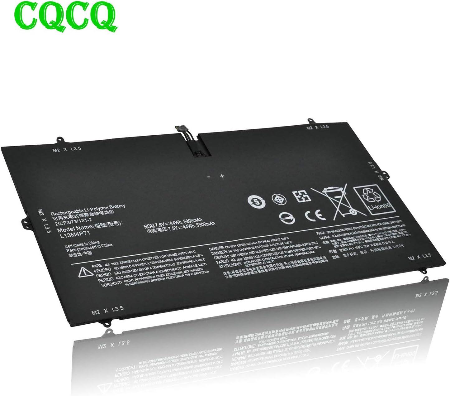 CQCQ Compatible L13M4P71 L14S4P71 Battery Replacement for Lenovo Yoga 3 Pro 1370 Pro-5Y71 Pro-I5Y51 Pro-I5Y50 [7.4V 44Wh]
