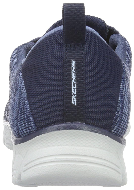 Skechers Damen Ez Flex 3.0take-The-Lead Sneakers Blau (Nvy)