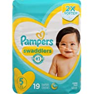Pampers Pampers Swaddlers Diapers Size 5, 19 ct