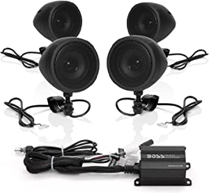 BOSS Audio Systems MCBK470B Motorcycle Bluetooth Speaker System