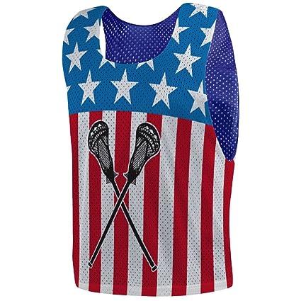 368697f94 Amazon.com  ChalkTalkSPORTS USA Lax Guys Lacrosse Pinnie