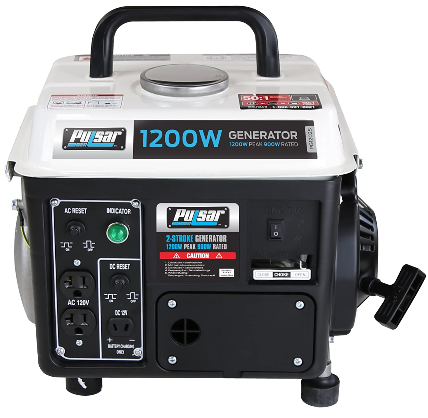 Pulsar 1 200w Portable Gas Powered Generator With Avr Circuit Source Abuse Report Diesel Carrying Handle Pg1202s Power Generators Garden Outdoor