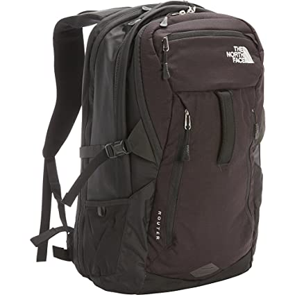 594357a05b4d The North Face Router Backpack TNF Black  Amazon.co.uk  Clothing
