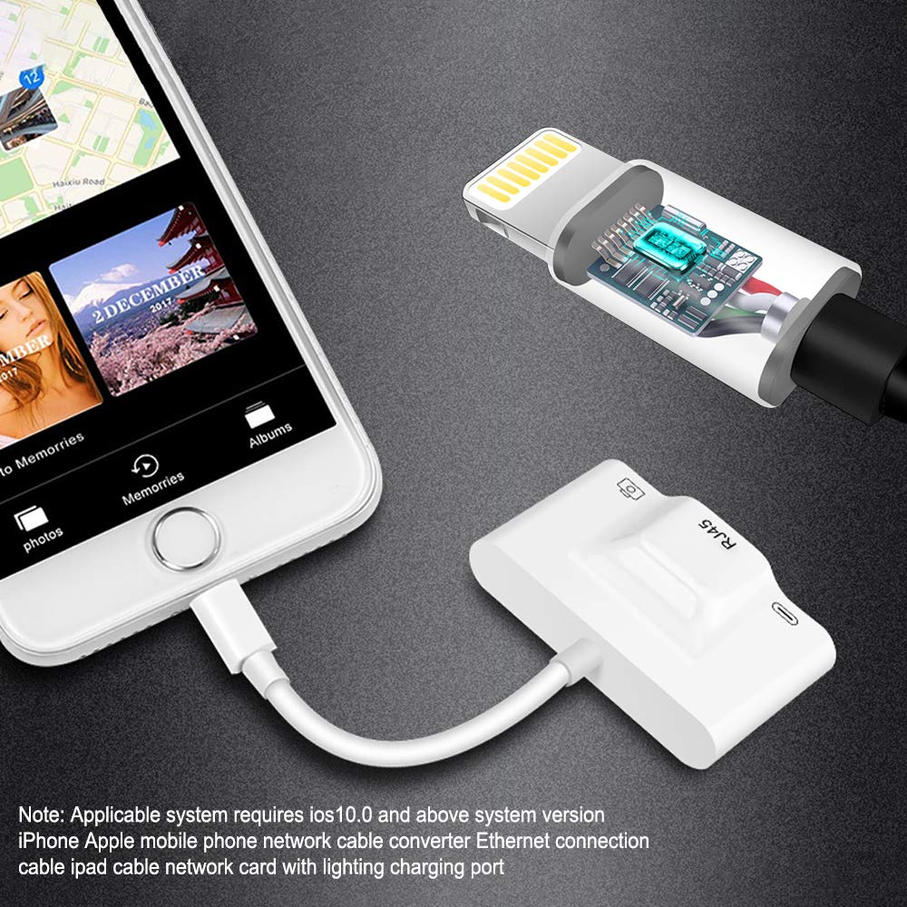 Branchement Ethernet pour iPad