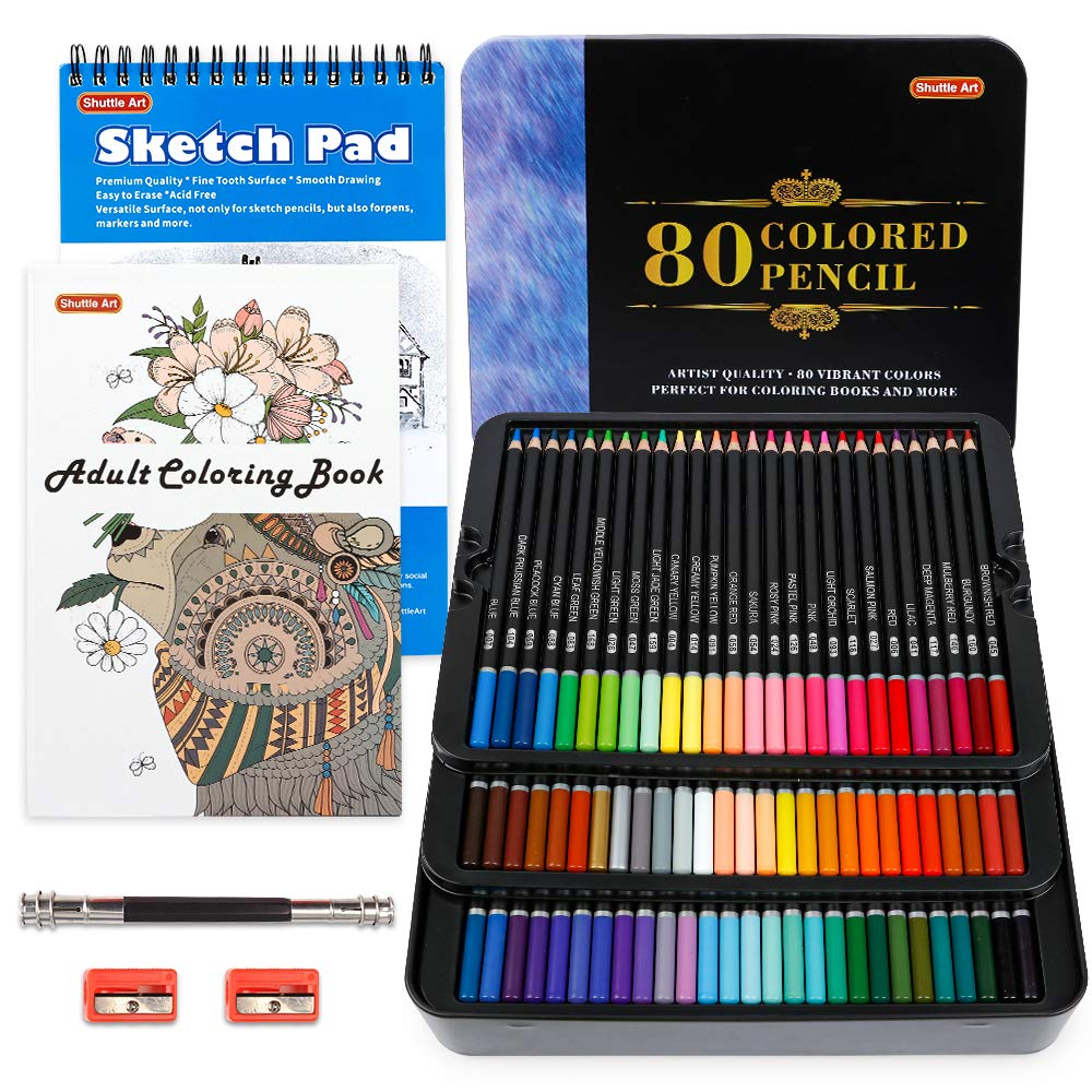 Shuttle Art Lapices De Colores (80 Unidades) Set