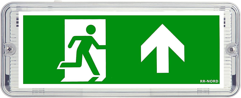Lampada di emergenza LED IP65/illuminazione di emergenza Exit uscita di emergenza via di fuga lampada luce di emergenza via di fuga segno di salvataggio
