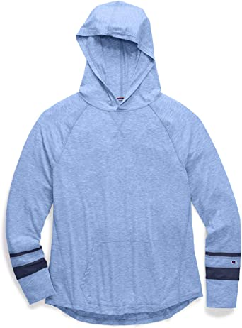 Woman\u2019s Athletic Champion Zip Up Hoodie in Jersey material Free Shipping