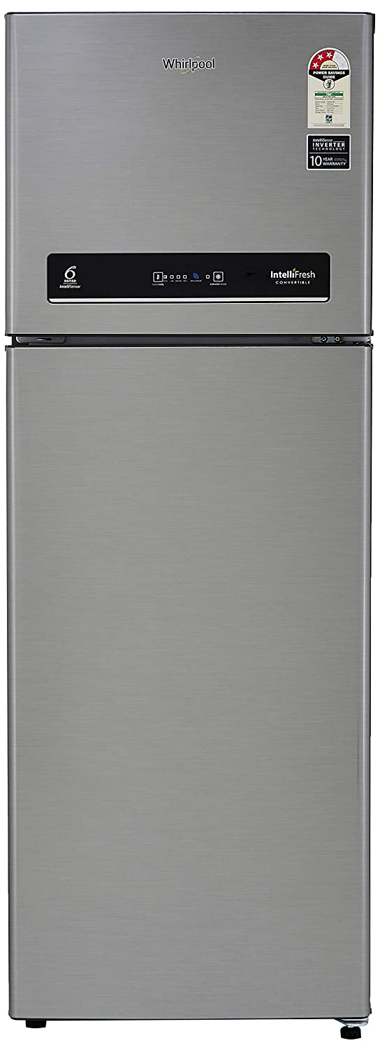 Whirlpool 265 L 3 Star Inverter Frost-Free Double Door Refrigerator