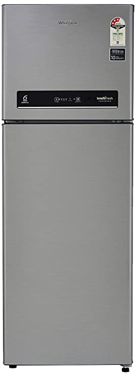 Whirlpool 265 L 3 Star Inverter Frost Free Double Door Refrigerator  INTELLIFRESH INV CNV 278 3S, German Steel, Convertible  Refrigerators