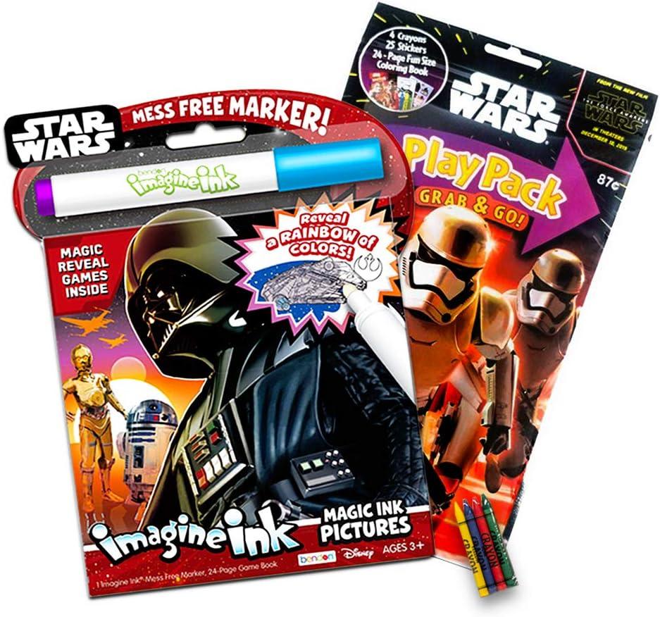 Star Wars Imagine - Juego de Libro de Tinta y Paquete de ...