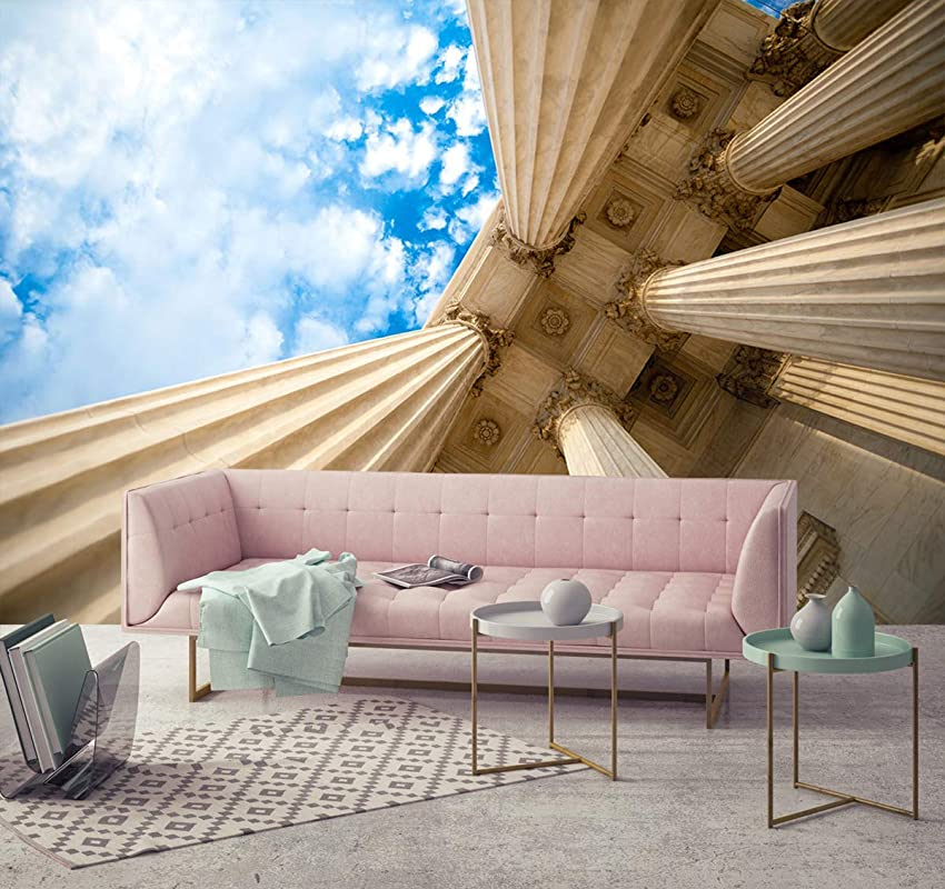 Living room Wallpaper 3D Tunnel Depth Wallpapers,Print Painting,Home Decor,Wall Decor,Removable Peel and Stick Wallpaper,Office Wallpaper