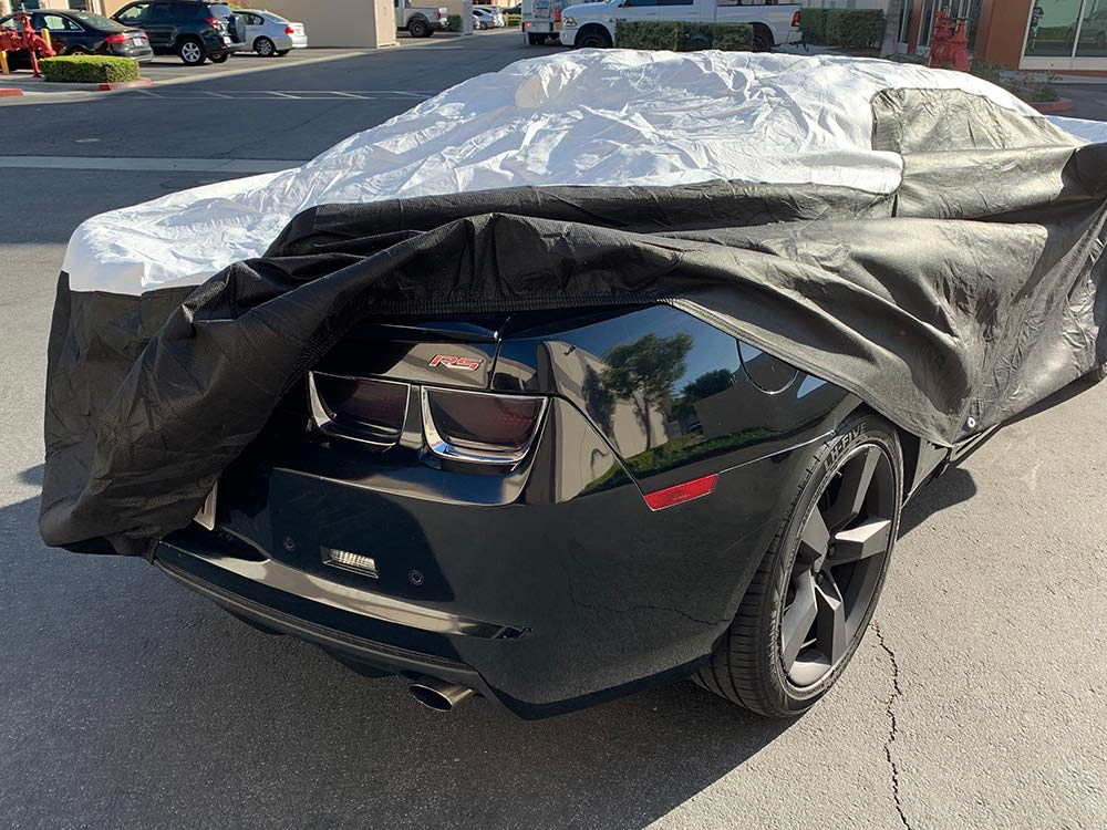 Tuxcover Custom Fit 2010-2019 Chevy Camaro Car Cover All Weatherproof Multi Tyvek Covers