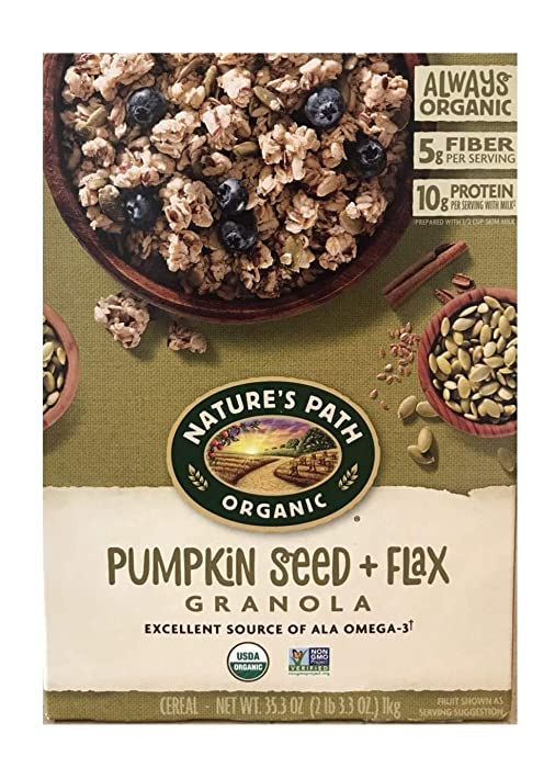 Top 4 Flax Seed Pumpkin Nature Path