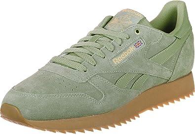 6d869cbf641 Reebok Men s Classic Leather Ripple Low-Top Sneakers  Amazon.co.uk  Shoes    Bags