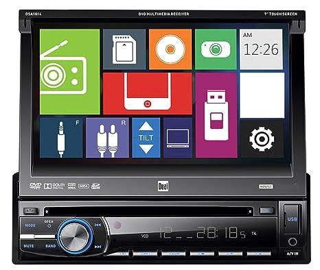 Amazon.com: Dual In-Dash CD/CD-RW estéreo receptor con mando ...
