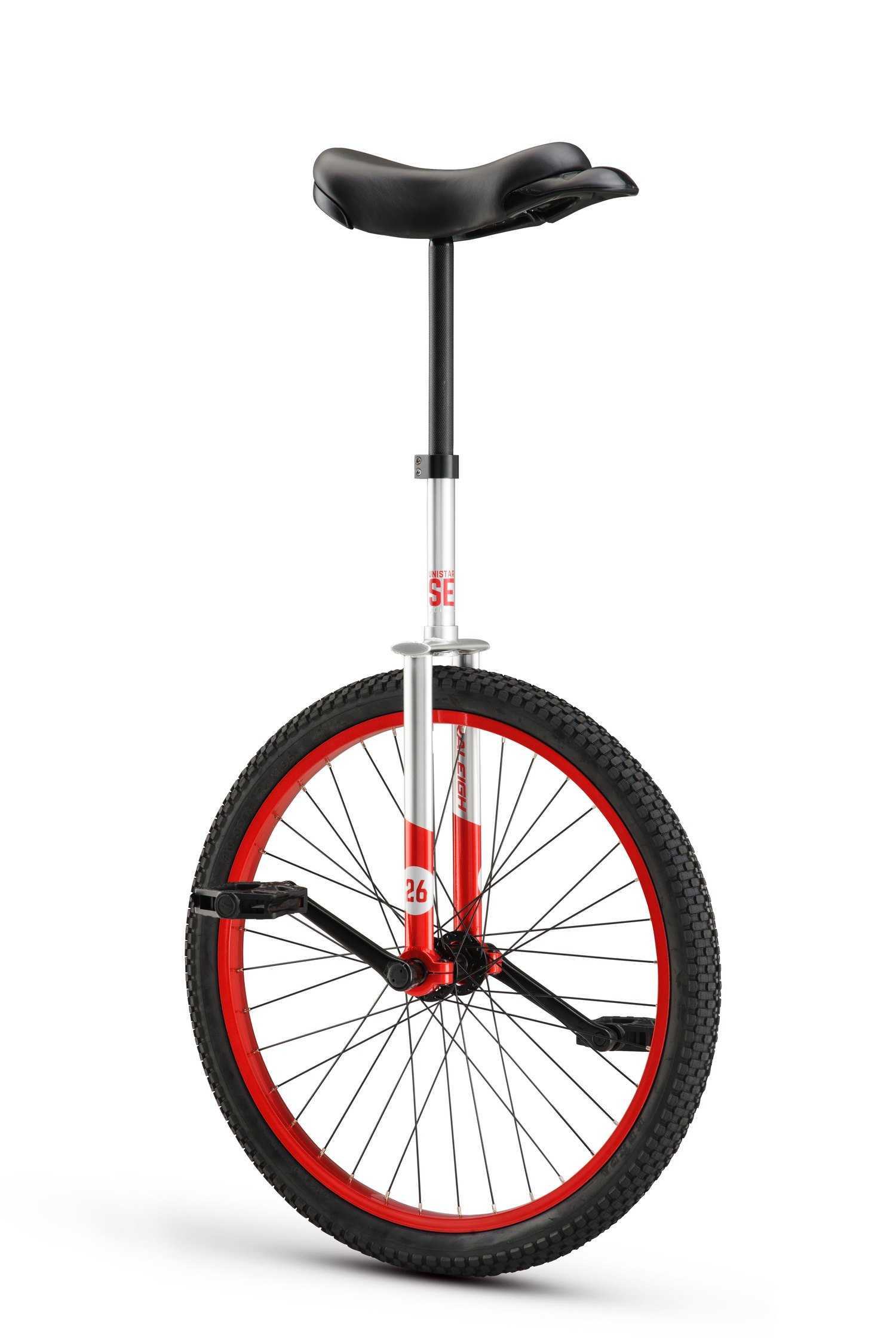 RALEIGH Unistar SE 26, 26inch Wheel Unicycle, Red by RALEIGH