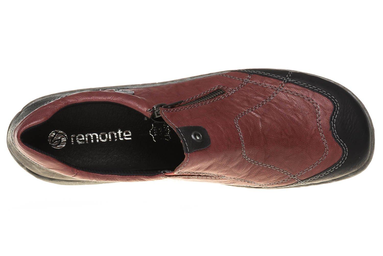 Remonte Kombi Damen R4701 Slipper, Rot Kombi Remonte 1fe887