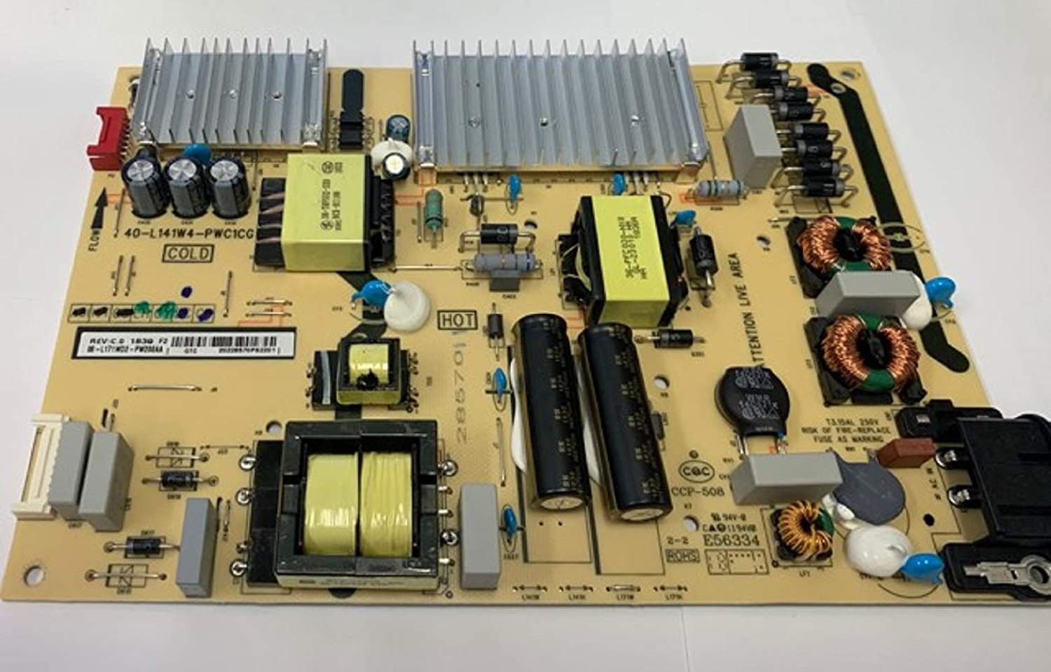 Power Supply Board 08-L171WD2-PW200AA 40-L141W4-PWC1CG for Model 65s421