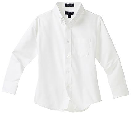 Amazon.com: IZOD Kids Big Boys' Long-Sleeve Solid Buttondown Dress ...