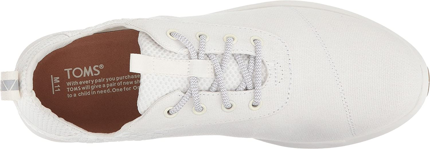 TOMS 10011569, Chaussures de Fitness Homme White Basketweave