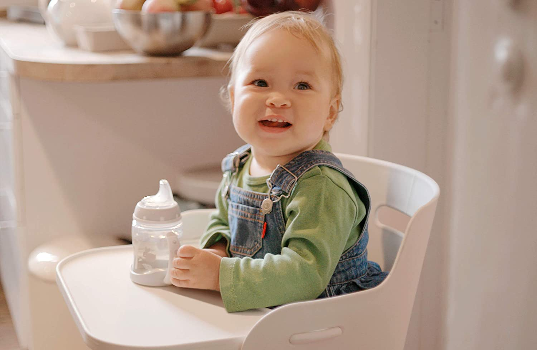 6-18 Monate Silikon-Trinkt/ülle NUK First Choice Trinklernbecher BPA-frei 150 ml Boy auslaufsicher T/ürkis