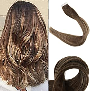 Sweepstakes: Fshine Tape In 12 Inch Extentions Short Hair Tape On Brazilina...