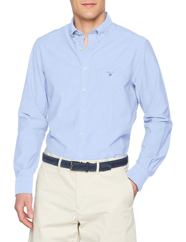 TALLA L. Gant The Broadcloth Reg BD Camiseta Deporte para Hombre