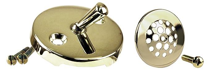 Amazon.com: Westbrass D323-20G-05 Beehive Bath Drain Plug, Polished Nickel: Home Improvement