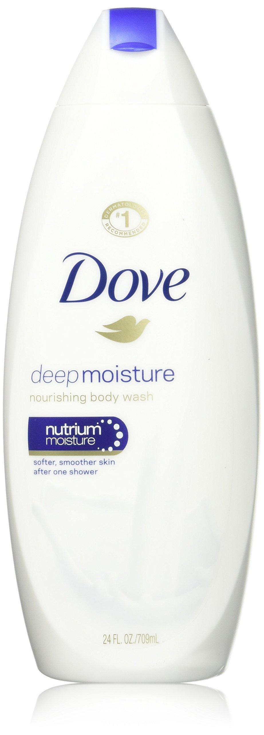 Dove, Deep Moisture Nourishing Body Wash, 24 Ounce
