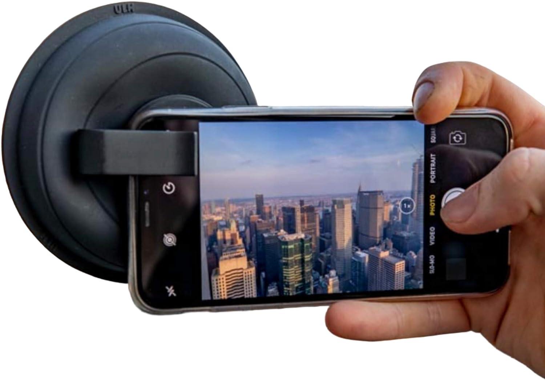 Kit fotocamera Samsung Accessorio antiriflesso per fotografia con smartphone Visto su Kickstarter Accessori iPhone Paraluce originale Ultimate Lens Hood ULHmobile per telefono cellulare