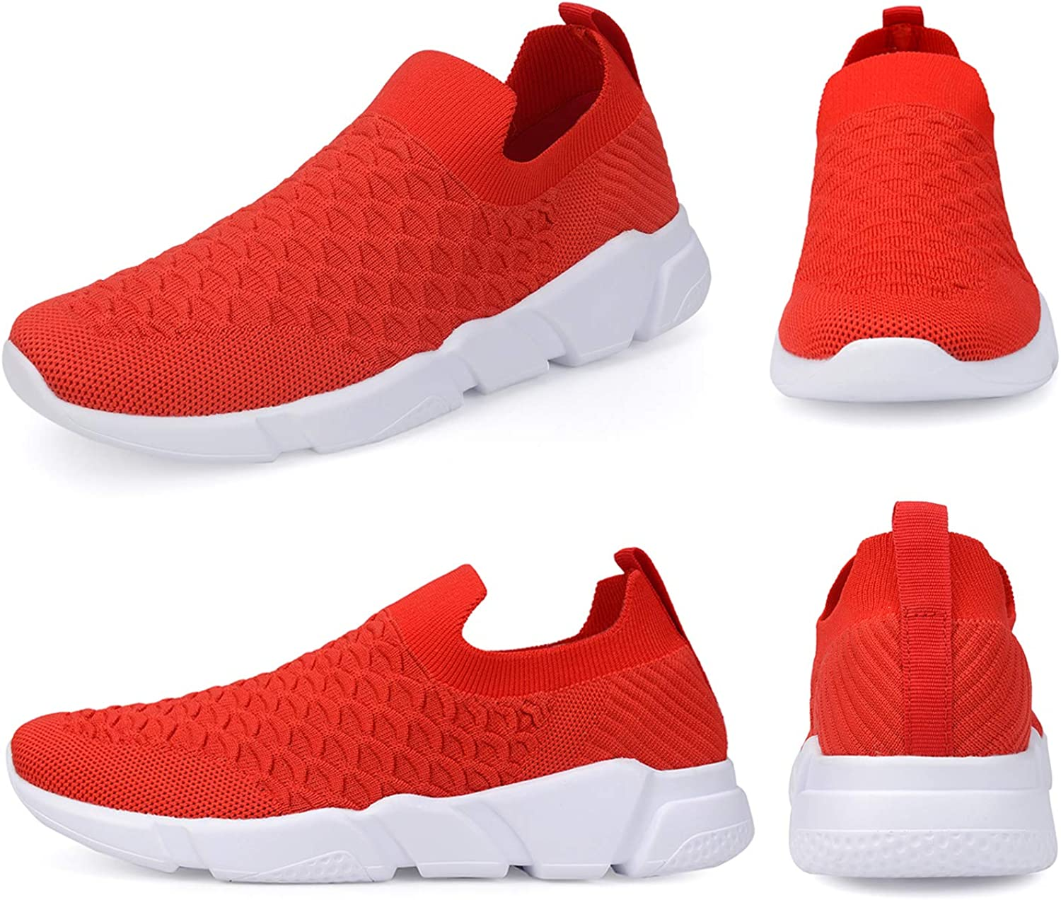 Good Selling A-PIE Men's Running Shoes Fashion Sneakers Casual Walking Shoes Lightweight 006red LM88NX