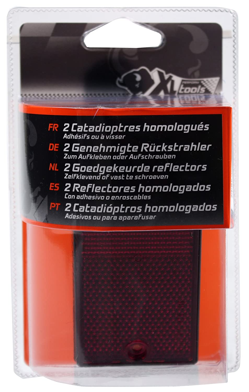 XL Perform Tool 553919 2 Catadioptres Homologu/és Rouges