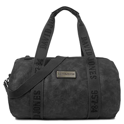 faecd82984 David Jones - Women s Large Travel Bag - Hand Luggage Duffle Tote Bag - PU  Leather