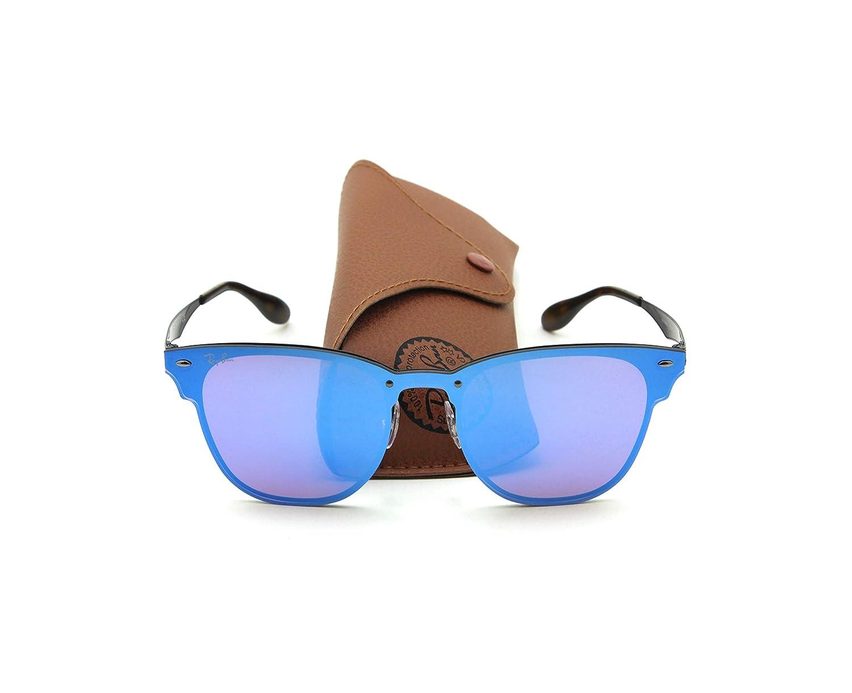 1475625c87 Amazon.com  Ray-Ban RB3576N BLAZE CLUBMASTER Sunglasses 153 7V
