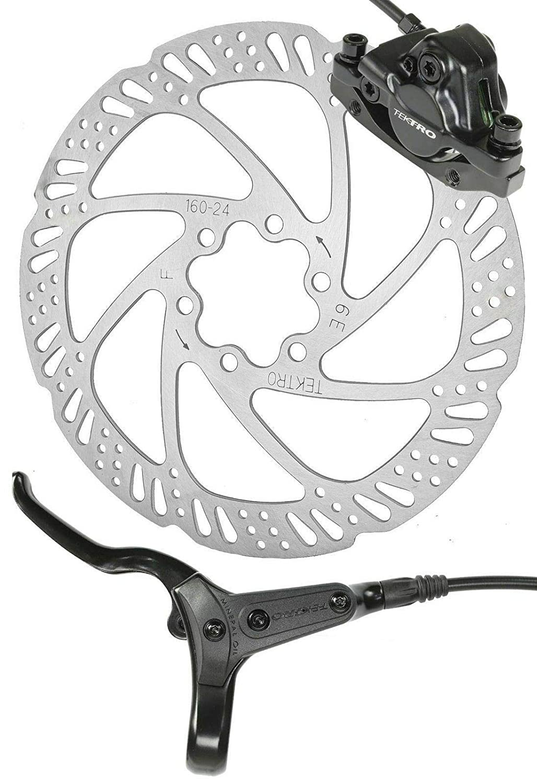 Pads Tektro HD-M285 Hydraulic Disc Rear Bike Brake Hose Lever Oil Caliper