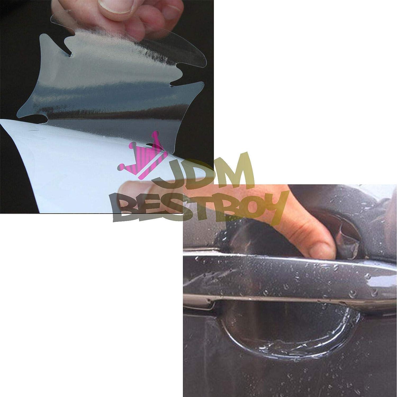 JDMBESTBOY 2PCs 3M Scotchguard Clear Door Handle Paint Scratch Protection Protector Protective Guard Film Bra Vinyl #2