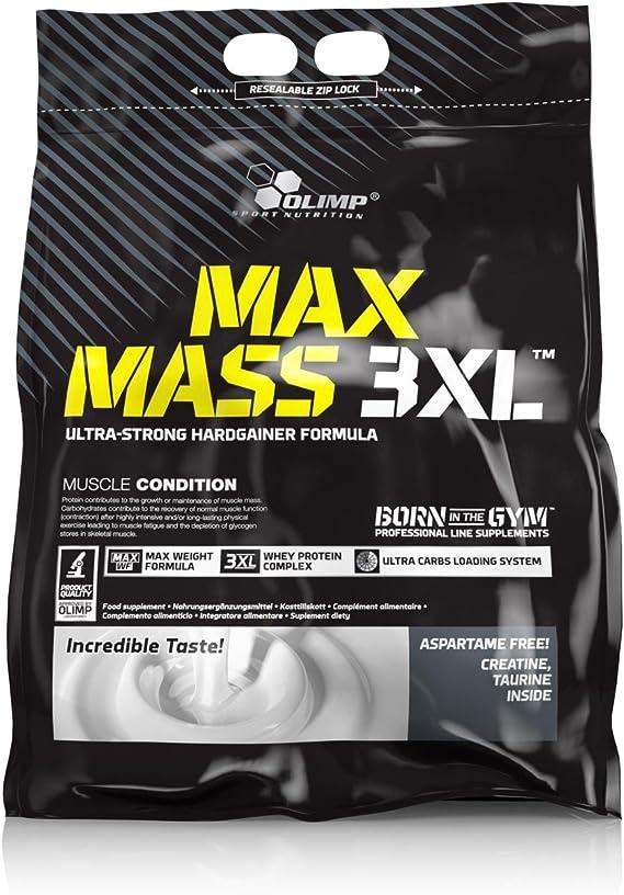 Olimp Sport Nutrition Ganador de Masa Muscular MAX Mass 3XL con Sabor Chocolate - 6 kg