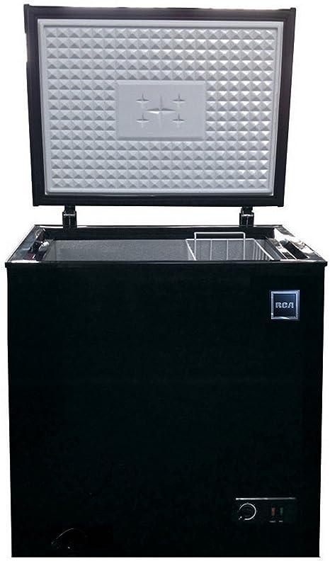 RCA FRF454-BLACK 5.1 pies cúbicos Congelador de pecho: Amazon.es ...