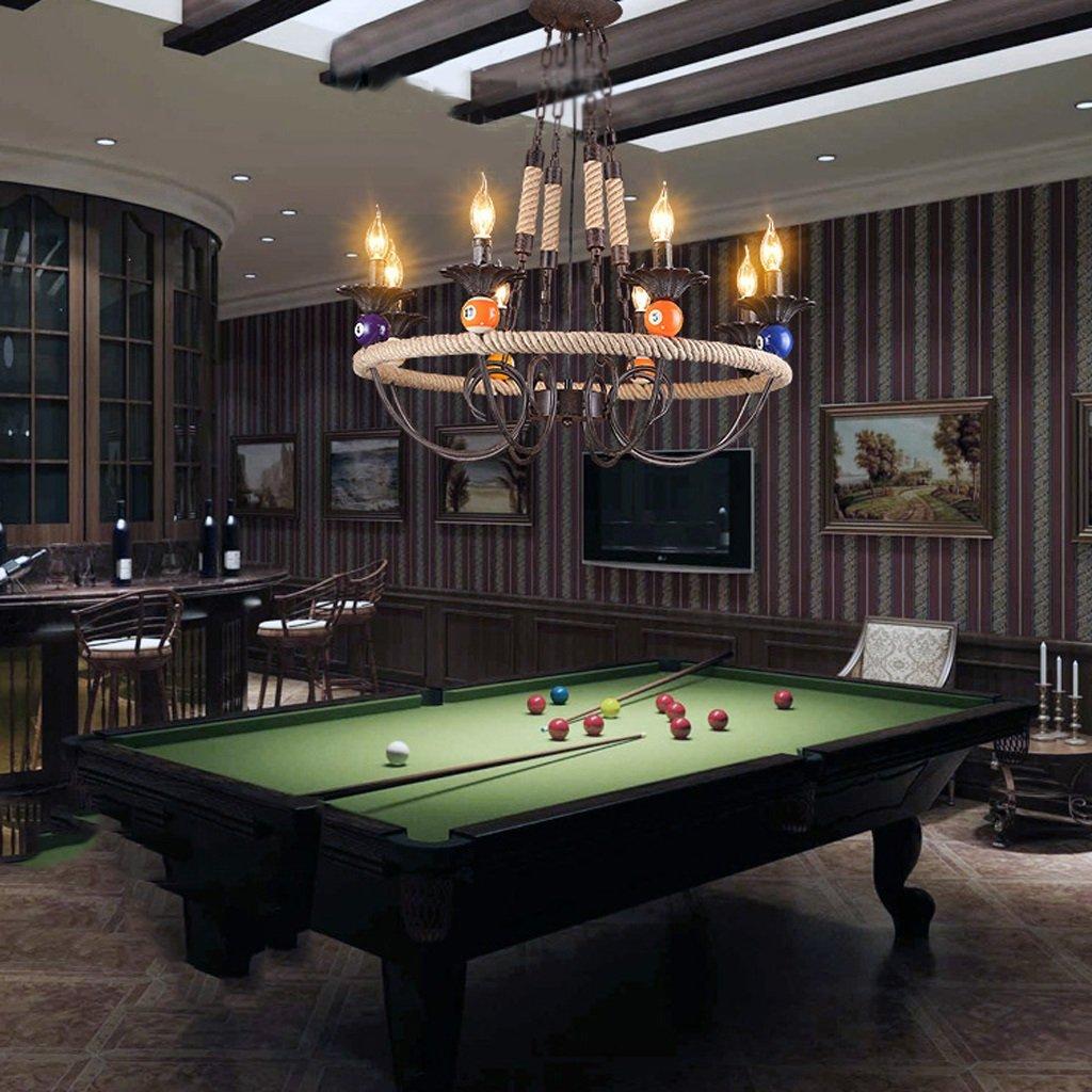 Lámparas americano estilo retro industrial bar Bar Sala de Billar ...