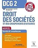 DCG 2 Droit des sociétés et des groupements d'affaires - Manuel - Réforme 19/20: Réforme Expertise comptable 2019-2020