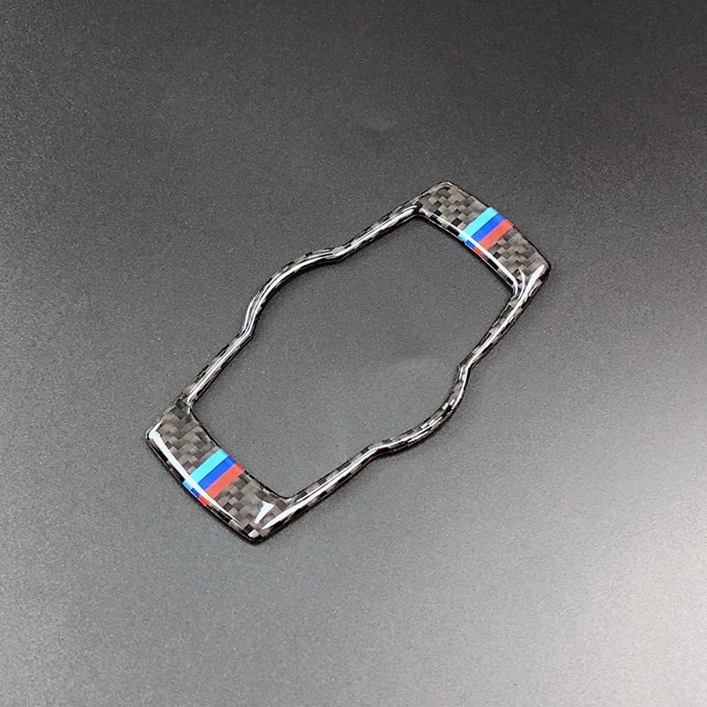 Carbon Fiber F/ür BMW E90 E92 E93 2008-2012 Innen Tasten Kohlefaser Scheinwerferabdeckung Trim Styling Auto Aufkleber 3 Serie Zubeh/ör Walmeck