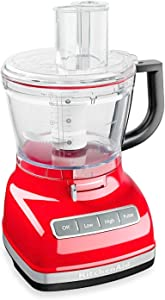 KitchenAid KFP0930WM 9-Cup Food Processor with Exact Slice System Watermelon Light Red color