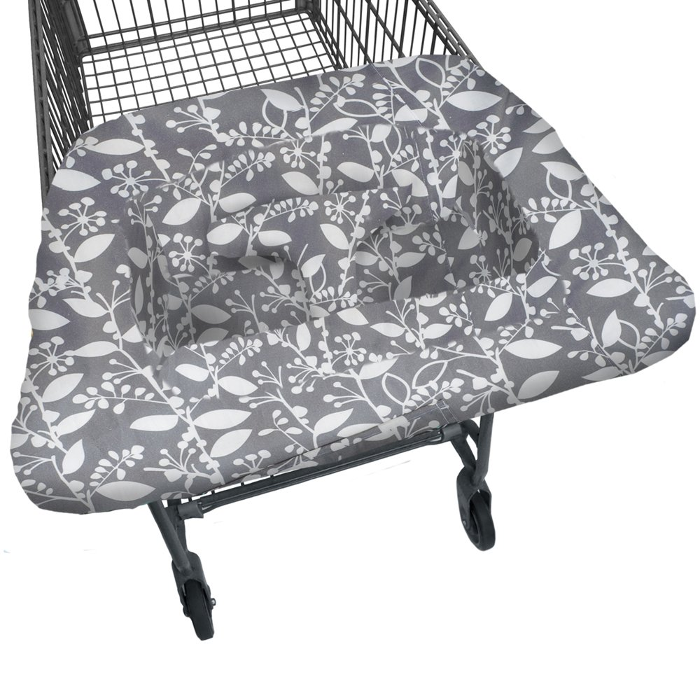Jj Cole Shopping Cart Cover Blue Iris J00579