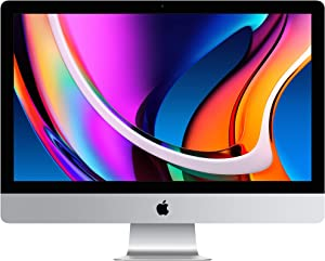 New Apple iMac with Retina 5K Display (27-inch, 8GB RAM, 512GB SSD Storage) (Renewed)