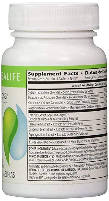 Amazon.com: Herbalife Cell-U-Loss® Weight Loss Enhancer Natural Detoxification and Healthy Elimination of Water (2 Bottle): Health & Personal Care