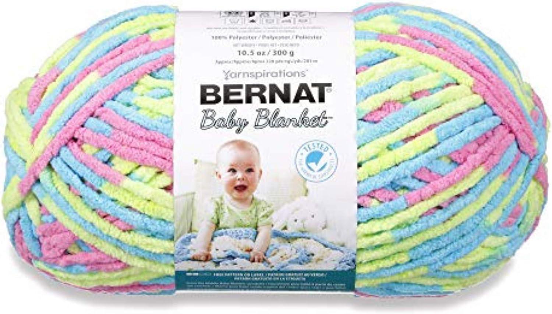 Bernat Baby Blanket Big Ball Jelly Beans