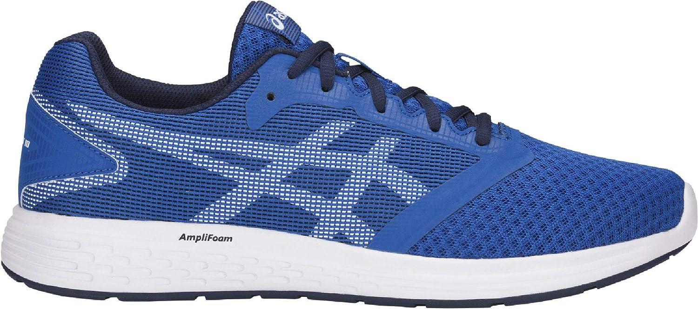 Zapatilla Running para Hombre Asics, Empeine Malla y Plantilla Extraible - patriot10-1 (40 EU, Azul): Amazon.es: Zapatos y complementos