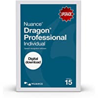 Dragon Professional Individual 15.0, Upgrade from Pro Versions 12.0 and Up [PC Download]