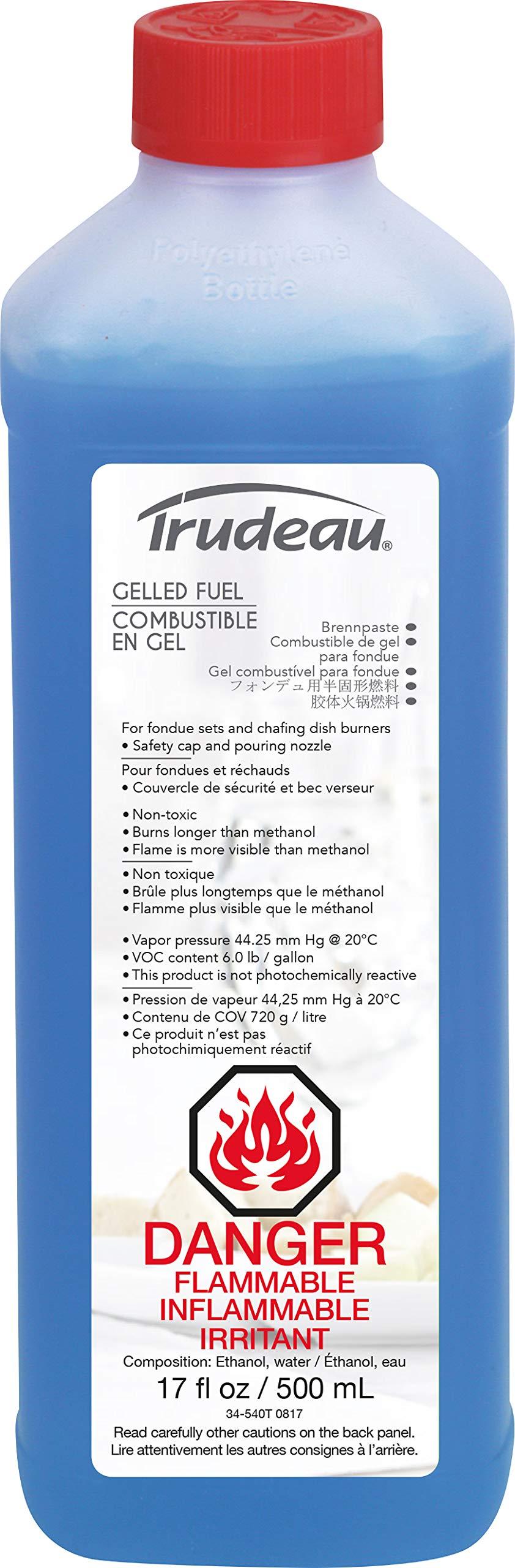 Trudeau 082337 Gelled Fuel, 17 oz, Blue by Trudeau